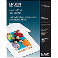 IRON-ON COOL PEEL TRANSFER PAPER,