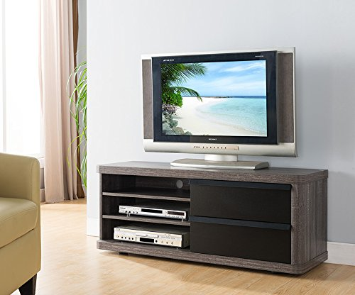 tv console distressed - 9