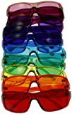 [3 Sizes Available] Kids Style Color Therapy Glasses - Set of 10 Colors, Sunglasses