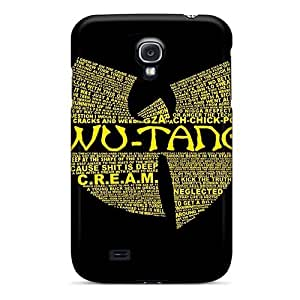 IanJoeyPatricia Samsung Galaxy S4 Bumper Hard Cell-phone Case Provide Private Custom Trendy Wu Tang Clan Image [Rxb4963evlg]