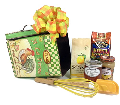 2 Sisters Gift Baskets Rise and Shine Family Breakfast Gift Basket