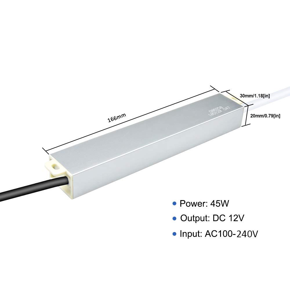 MR11 MR16 G4 LED Bulbs LED Transformer LED Power Supply 18W 12V DC Waterproof IP44 100V-265V AC LED Supply Driver for LED Strip Lights