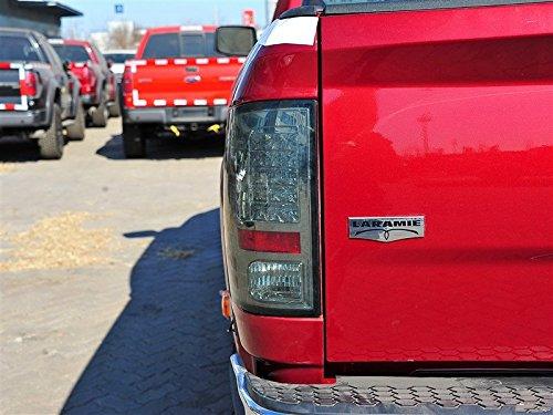 1 OEM Laramie Tailgate Emblem Badge 3D LARAMIE Nameplate for Ram 1500 2500 3500 Black Red