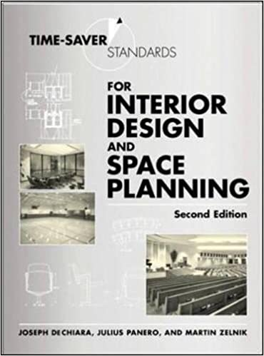 Time Saver Standards For Interior Design And Space Planning Joseph DeChiara Julius Panero Martin Zelnik 8601405421258 Books