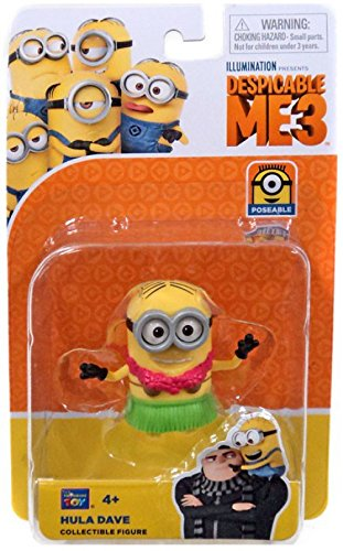 Think Way Despicable Me3-2 Collectible Articulated Figures Hula Dave