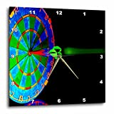 Dart Board – DartBoard – 15×15 Wall Clock (dpp_816_3) For Sale