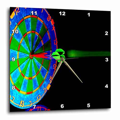 Dart Board – DartBoard – 15×15 Wall Clock (dpp_816_3) For Sale