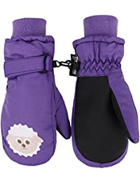 Toppers Kid Winter Gloves Thinsulate Lined Waterproof Ski Mittens Sheep XS