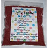 1 Lb HUGE -Almost 30,000 Jelly BeadZ® Water Bead Gel - MAGENTA- 16 oz Heat Sealed Bag- Water Pearls Gel Beads- Wedding & Event Centerpieces
