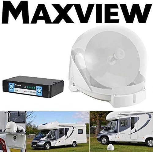 Maxview – VU Qube II Auto Blanco de Single – para de TV y ...