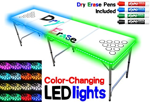 8 Foot Table OPTIONAL Color Changing Lights