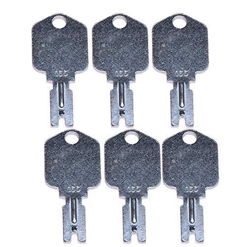 zt truck parts (6) For Clark Yale Hyster Komatsu Gradall Gehl Crown 166 Hyster Forklift Keys in USA