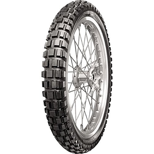 Continental Conti Twinduro TKC80 Dual Sport Tire - Front - 110/80B-19 , Position: Front, Tire Type: Dual Sport, Tire Construction: Bias, Speed Rating: Q, Load Rating: 59, Tire Size: 110/80-19, Rim Size: 19, Tire Application: All-Terrain 02471430000 by Continental (Image #1)
