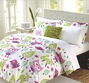 Amazon Com Cynthia Rowley 3 Pc Twin Comforter Bedding Set