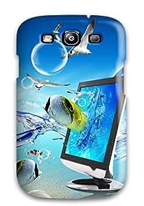 Hot Fantasy Desktop First Grade Phone Case For Galaxy S3 Case Cover