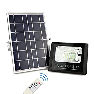 Solar powered flood lights outdoor with remote do it yourselfore awanber solar flood lights waterproof ip67 auto onoff outdoor remote control solar powered security aloadofball Images