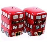 London Routemaster Bus Novelty Ceramic Salt & Pepper Set by Cruet Sets