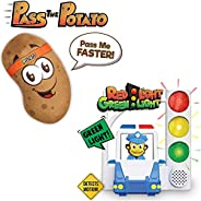 Move2Play Games Bundle Pack - Red Light Green Light and Pass The Potato