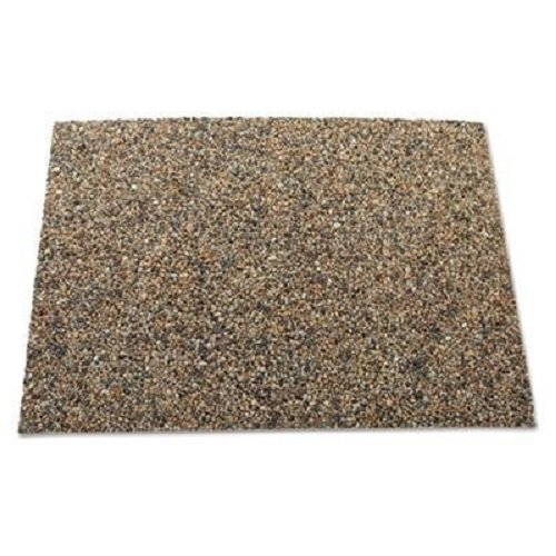 River Rock Stone Panels for the Rubbermaid Commercial Products Landmark Series Classic 35G Trash Can, FG400300ROCK