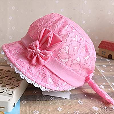 Baby Summer Lace Hat Princess Girls Cap Sun Fisherman Hats for 3-18 months