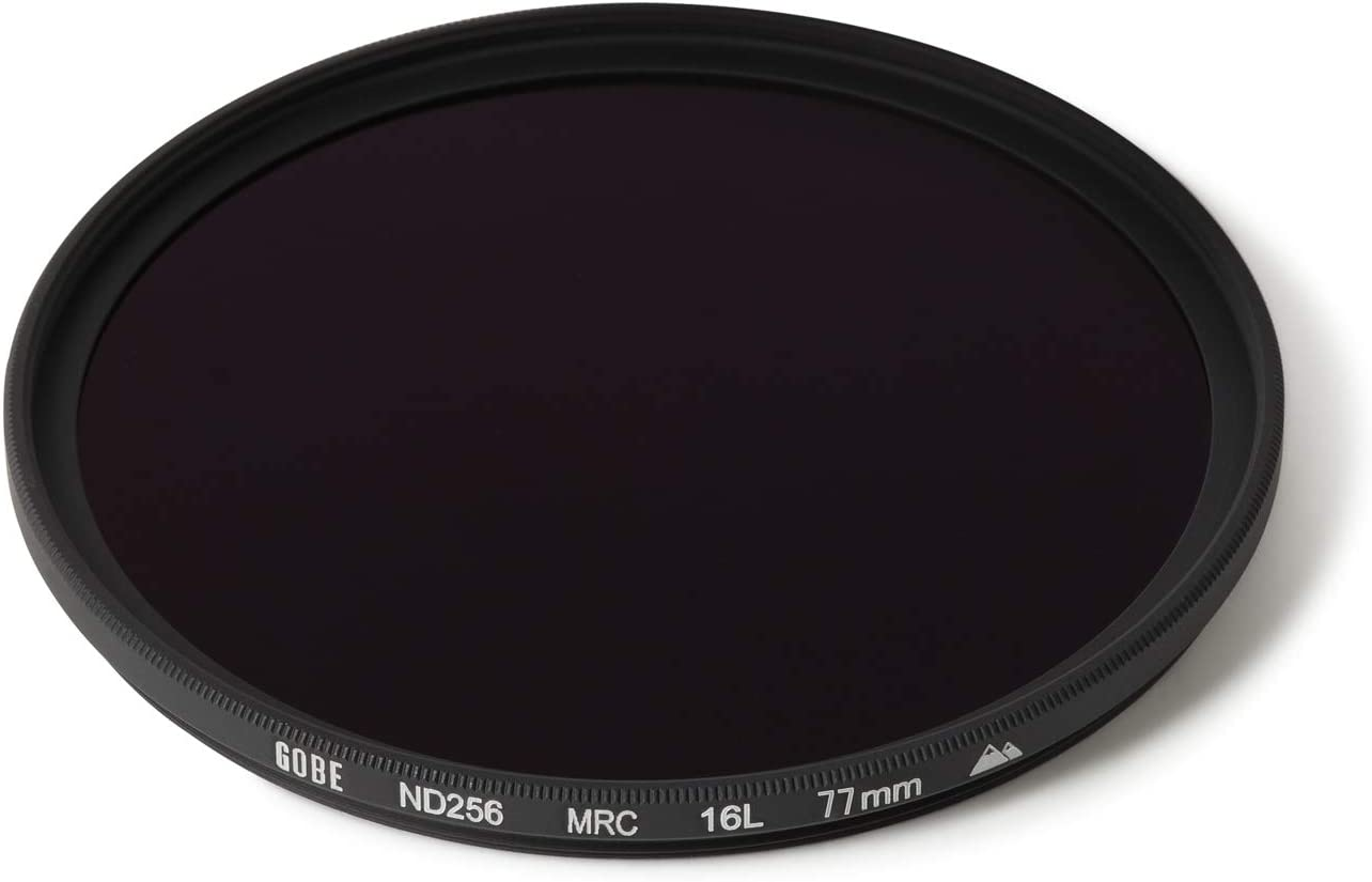 ND Lens Filter Gobe 58mm ND256 2Peak 8 Stop