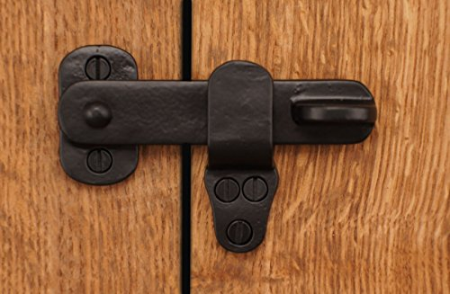 Brass Valley 4 Quot Black Flip Latch Solid Cast Brass