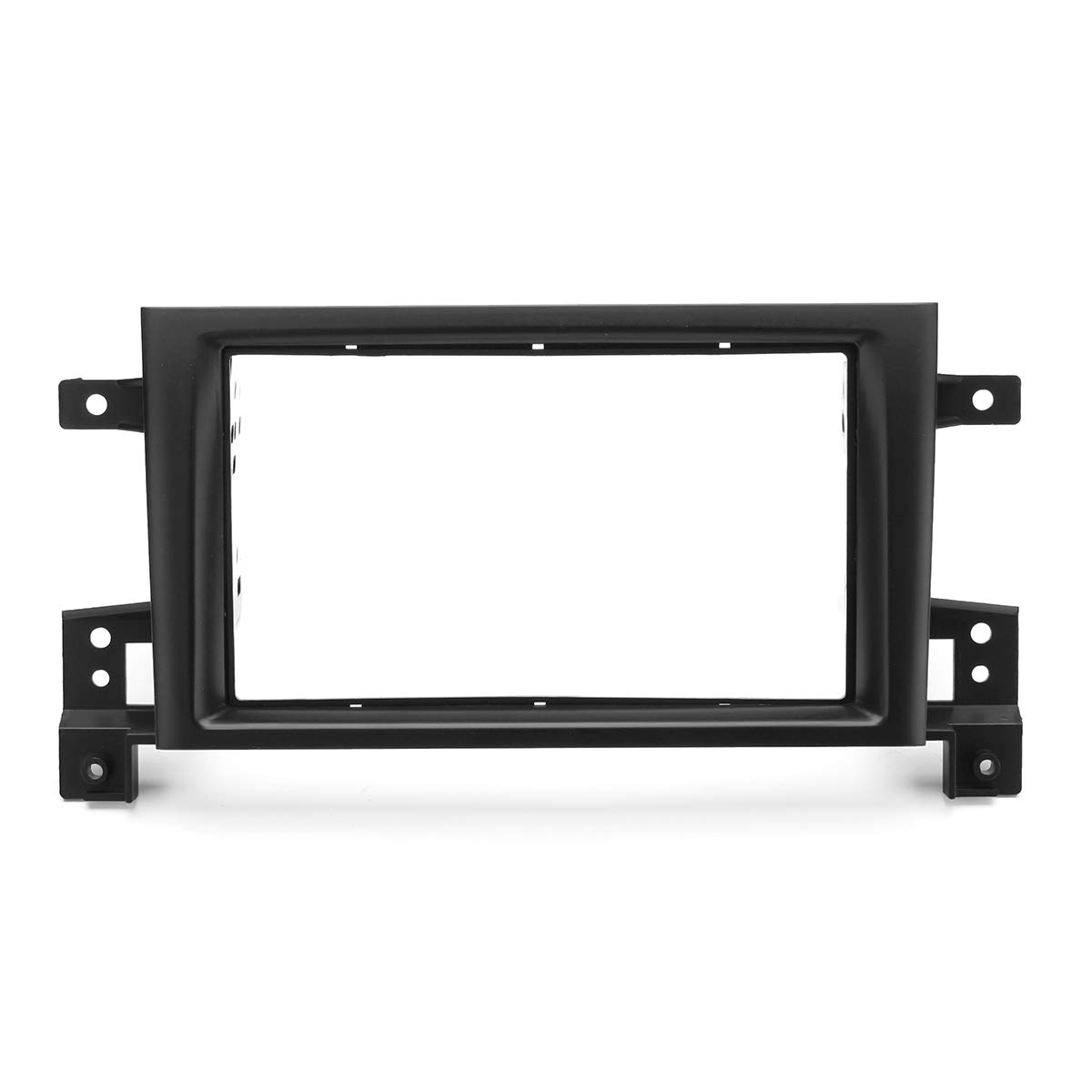 Hitommy 2Din Car Stereo Panel Plate Frame Kit for Suzuki Grand Vitara 2015+