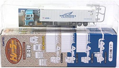 【2】 トミーテック 1/150 ザ・トレーラーコレクション 第4弾 三菱ふそう新型スーパーグレート+日本郵船 40ftHQ冷蔵コンテナ 単品