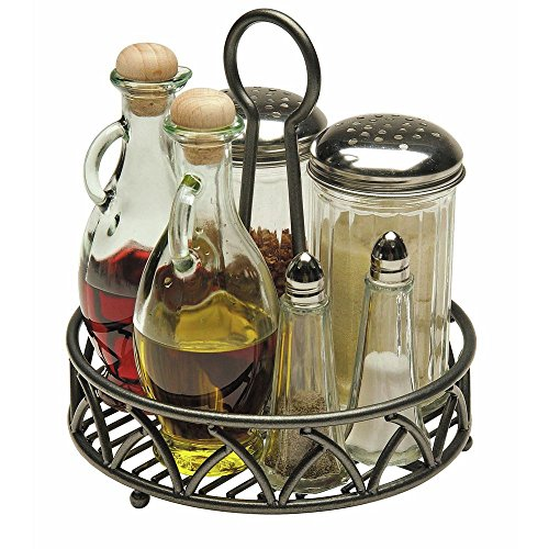 Seasoning Organizer Powder-Coated Steel Wire- 8