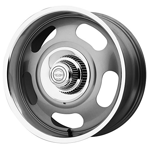 American Racing   VN50679006400   17 Inch   VN5064 Wheel/Rim   Mag Gray  Center With Polished Lip   17x9 Inch   5x120 65/5x127 00/5x4 75/5 0   0mm