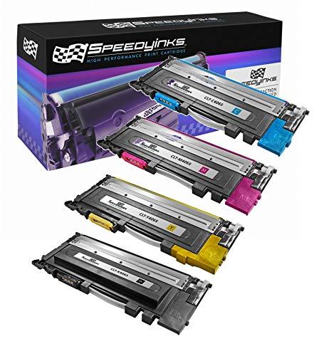 Speedy Inks - Compatible For Samsung CLP-365 CLP365 CLP365 Laser Toner Set CLT-K406S CLT-C406S CLT-M406S CLT-Y406S