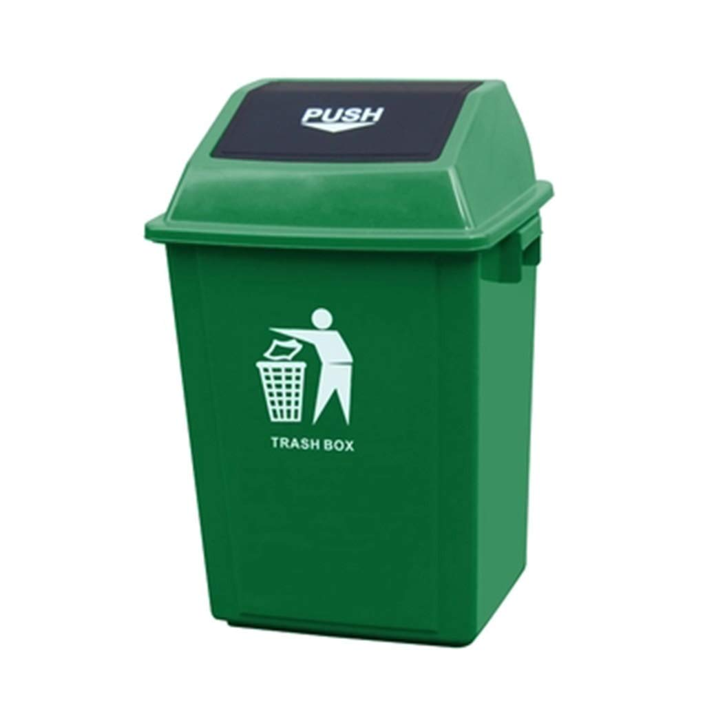 trash can Classified With Lid Trash Can Outdoor Plastic With Lid Sanitation Plastic Bucket Rural Park Street Trash Can Trash Can CXZS-trash can