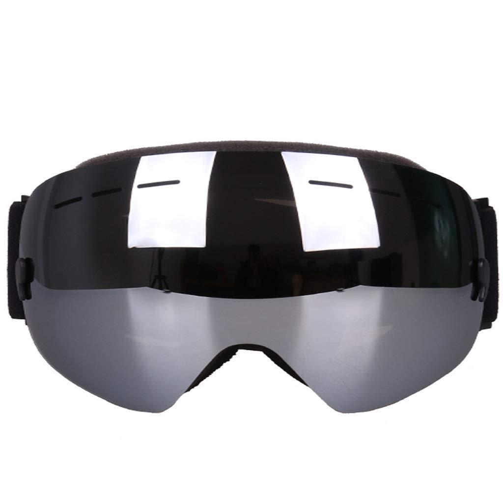 保護ゴーグル防曇防紫外線二層レンズスノーモービルスノーボードスケート (色 : C) B07SWY4HJ5 C