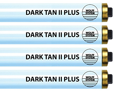 Wolff Dark Tan II Plus F73 HO 100W RDC Tanning Lamp - Bronzing Bulbs! (24) Dark Tan Tanning Bed Bulbs