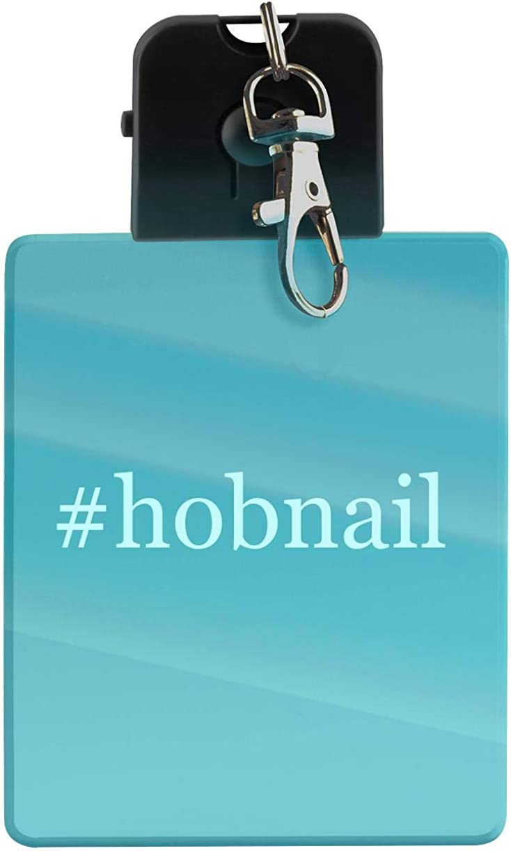 #hobnail - Hashtag LED Key Chain with Easy Clasp