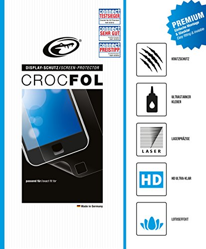 CROCFOL PREMIUM 5K HD (2er PACK) Schutzfolie für das i-INN Smartlet Ultraklar und praktisch unsichtbar. ANTIBAKTERIELL (LOTUS EFFEKT) und KRATZFEST (HARD COATING). 3D Touch Folie für das Original i-INN Smartlet.