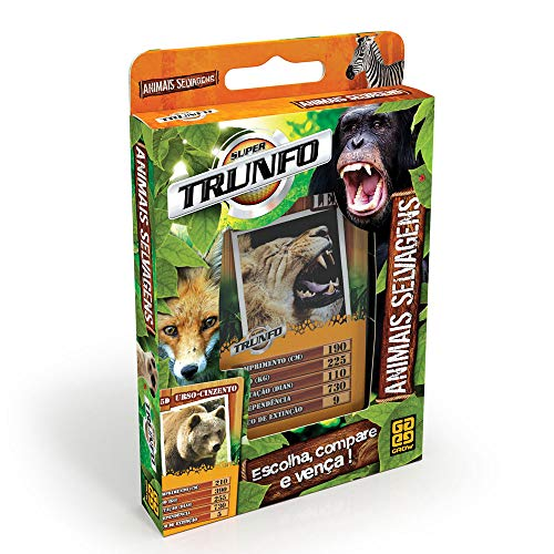 Trunfo Animais Selvagens Grow