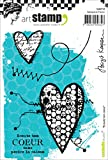 Carabelle Studio A6 Cling Stamp-Follow Your Heart