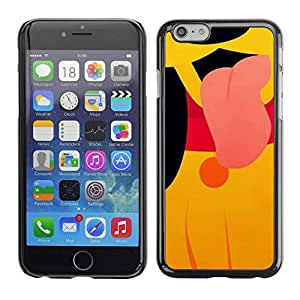 PC/Aluminum Funda Carcasa protectora para Apple Iphone 6 cute puppy cartoon character yellow / JUSTGO PHONE PROTECTOR