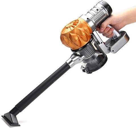 Limpiador de Coches Hoover Portátil Potente Coche Aspirador Portátil Ciclón Wet and Dry Car Aspirador De Mano Portable (Color : Golden, tamaño : Un tamaño): Amazon.es: Hogar