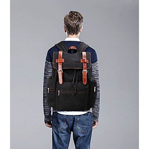 College London Boy Black Unisex Girl Travel Gym Ladies Canvas Rucksack Men Xardi School Backpack UK PSqdqv