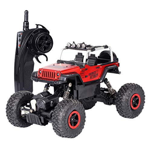 AMOFINY Toys Remote Control Car, Four-Wheel Drive, Remote Climbing, Off-Road Vehicle Remote Control Car Rc Electric High Speed Off-Road Truck Children Gift 1:18
