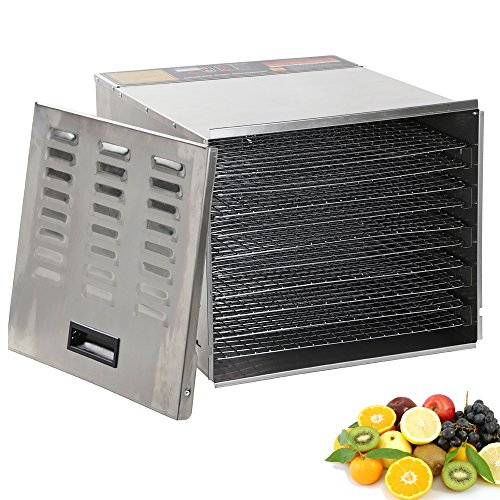 FCH 10 Tray Food Dehydrator Machine Professional Stainless S