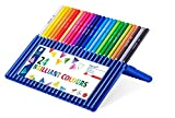 Staedtler Ergosoft Colored Pencils, Set of 24 Colors in Stand-up Easel...
