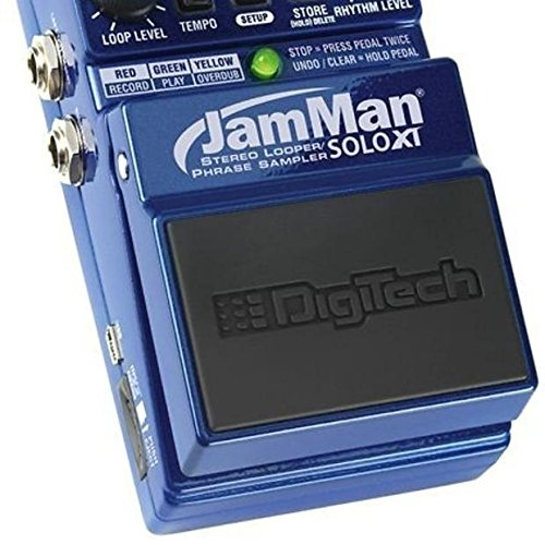 (Digitech Jamman Solo XT Looper Guitar Pedal + FS3X Footswitch)