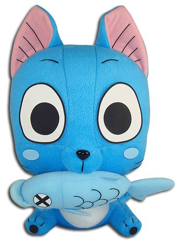 Great Eastern Entertainment Fairy Tail - Happy Collectible Plush Toy, 10