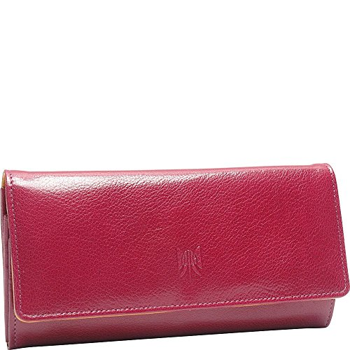 tusk-ltd-siam-accordion-clutch-wallet-raspberry-yellow