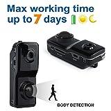 Conbrov DV89 Mini Nanny Cam Motion Activated Detection Recorder Tiny Spy Wireless Hidden Security Camera for Personal Surveillance