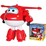 15cm ABS Super Wings Deformation Airplane Robot Transformation Action Figures Toys for Children Gift