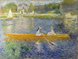 Oil Painting 'Pierre Auguste Renoir The Skiff (La Yole)', 30 x 39 inch / 76 x 100 cm , on High Definition HD canvas prints is for Gifts And Bed Room, Home Theater And Kitchen Decoration